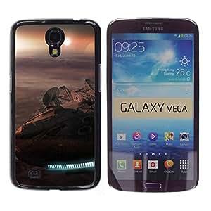 All Phone Most Case / Oferta Especial Duro Teléfono Inteligente PC Cáscara Funda Cubierta de proteccion Caso / Hard Case Samsung Galaxy Mega 6.3 // Millennium Falcon