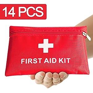 Th-some JAANY Botiquín de Primeros Auxilios de artículos, Survival Tools Mini Box Kit Bolsa Médica para Emergencias para… 6