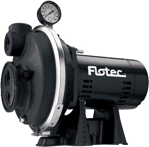 Flotec FP4312 1/2 HP Corrosion Resistant Convertible Jet Pump