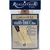 Realeather Crafts Multi, Tool Sheath Kit, Natural Review