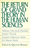Return of Grand Theory in Humanities 9780521318082