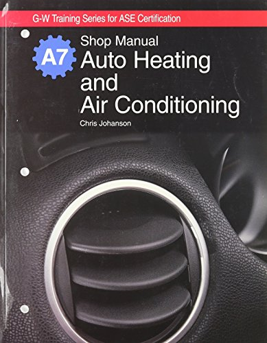 Auto Heating and Air Conditioning Natef Standards Job Sheets