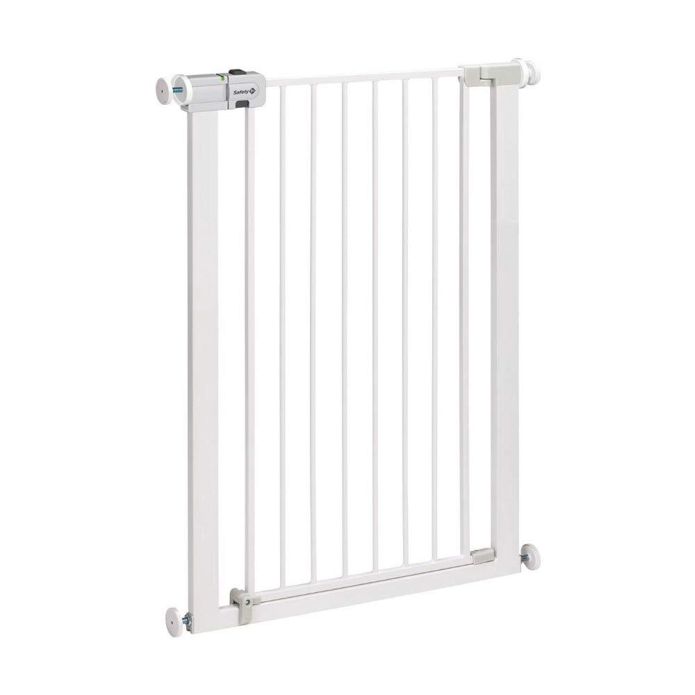 Puerta de Seguridad para Ni/ños Ancho Ajustable 75-89 cm Wakects Barrera de Seguridad para Puertas Infantil para Beb/é Ni/ño Mascota