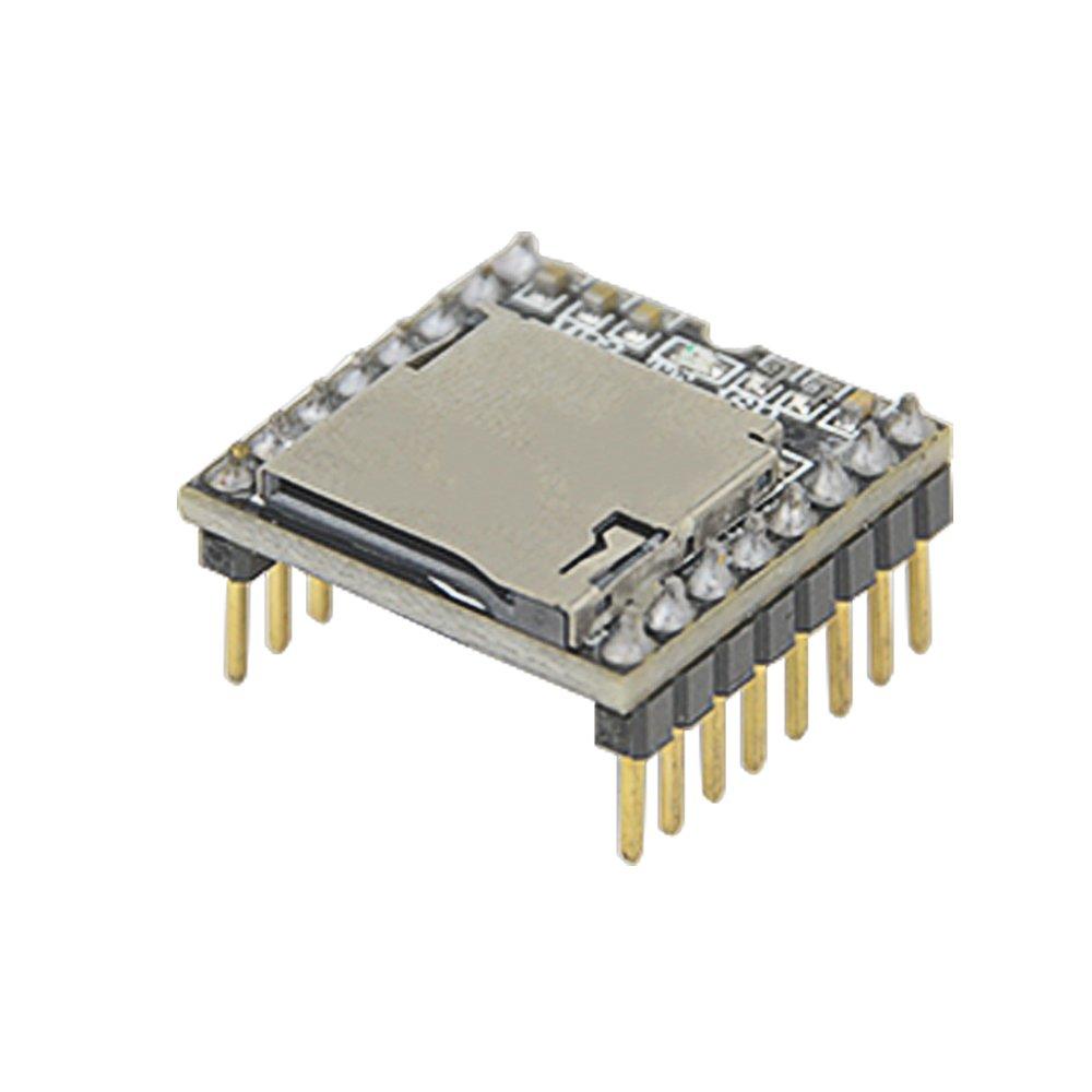 WGCD 5 PCS DFPlayer Mini MP3 Player Module for Arduino TF Card U Disk Supported