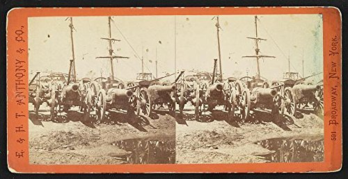 Photo: Reproduction,American Civil War,Rocketts,Richmond,Virginia,VA,Fortress Monroe from Infinite Photographs