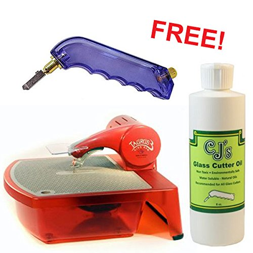Gemini Taurus 3 Diamond Ring Saw w/Free 8oz. CJ's Glass Cutting Oil & Value Glass Cutter - Ring Saw