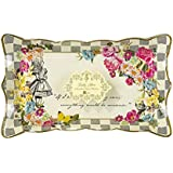 Talking Tables Truly Alice Food Serving Platter for a Tea Party or Birthday, Multicolor (4 Pack)