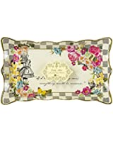 Talking Tables Truly Alice in Wonderland Food Serving Platter for Birthday, Tea Party, Wedding and Party Celebrations, Mad Hatter Party, Multicolour (4 Pack)