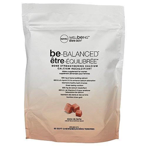Amazon.com: GNC Wellbeing Be-Balanced, Dulce De Leche, 60 Soft Chews: Health & Personal Care