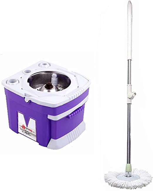 Trapeador Spinning Mop and Bucket Cleaning Set Cajón Diseño ...