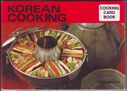 Korean Cooking (Cooking Card Books)
