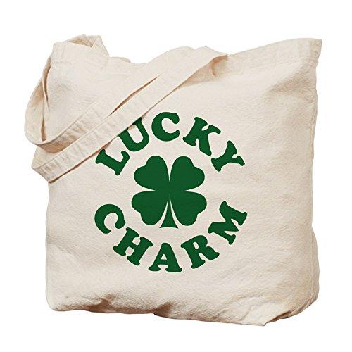CafePress–encanto [trébol de la suerte] Tote Bag–Natural gamuza de bolsa de lona bolsa, bolsa de la compra
