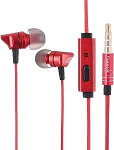 سماعات اذن سلكية من تينجود T206 - احمر