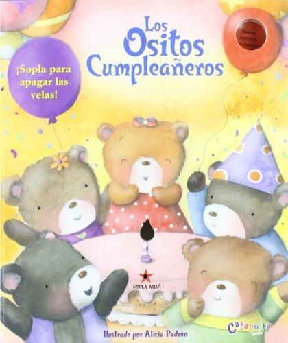 LOS OSITOS CUMPLEA¥EROS (UN LIBRO DIVERTIDO APRENDER CONTAR) [Paperback] [Jan...