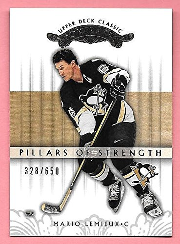 03/04 Upper Deck Classic Portraits Base Card #136 Mario Lemieux ()