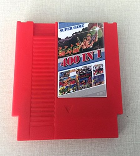 Cool 400 In 1 DIY 72 pins 8 bit Game for NES with game Contra Alien Final Fight 2 Golden Axe Batman Double Dracon 3 Robocop 2 - Contra Nintendo Nes Game