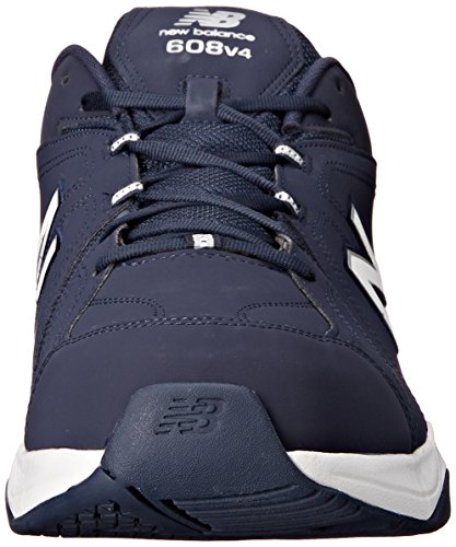 Balance New Training Men's White Navy Shoe 608v4 Black PZZadwqgx