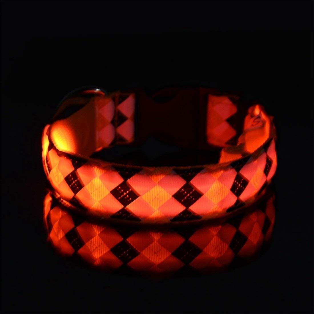 Taihang Taihang Taihang Pet Dog Light Light Collar Light Collar Cintura Pet Dog (colore  Giallo, Taglia  XL [Caricato]) 69bee1