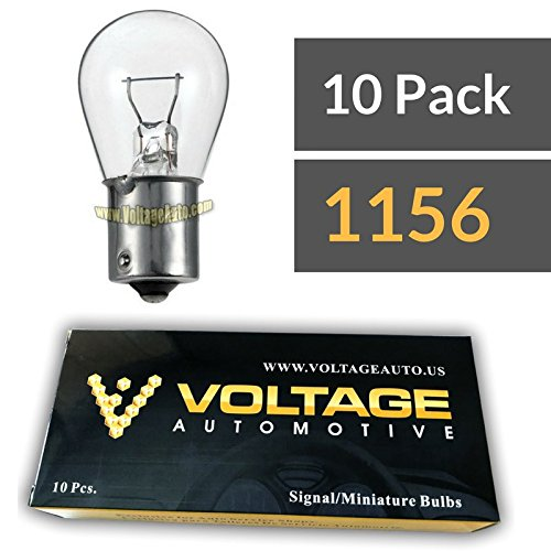 (10 Pack) 1156 Automotive Brake Light Turn Signal Side Marker Light Bulbs