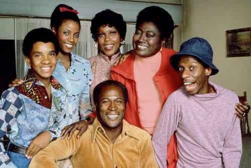 Good Times Color Jimmy Walker & Cast 24X36 Poster