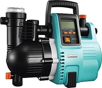 Fabulous GARDENA Comfort Hauswasserautomat 5000/5E LCD: Hauswasserpumpe mit IB72