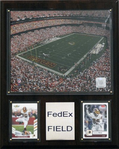 (NFL FedEx Field Stadium Plaque)