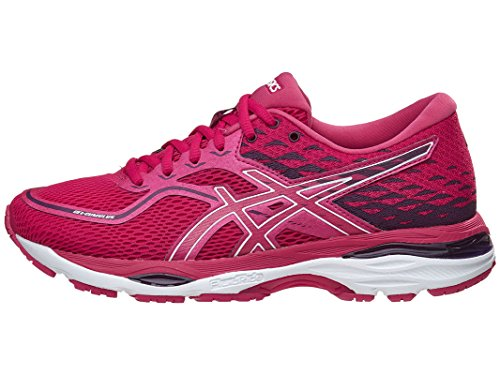 Price comparison product image Asics Womens Gel-Cumulus 19 Running Shoe,  Cosmo Pink / White / Winter 6.5 B(M) US