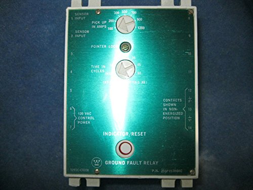 Ground Fault Relay (Ground fault relay 255P157H04C Westinghouse)