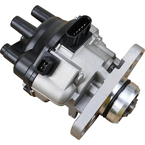 Brand New Complete Ignition Distributor w/ Cap & Rotor for 1991 1992 1993 1994 1995 Dodge Colt Eagle Summit Plymouth Mitsubishi Mirage 1.5L T6T57171 OEM FIT DT6T571