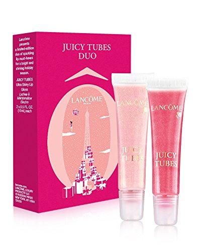 y Tubes 2pcs Set - Lychee & Marshmallow Electro ( 2 Full Size Ultra Shiny Lip Gloss) ( 2x 0.5 oz each) (Lancome Pink Lip Gloss)