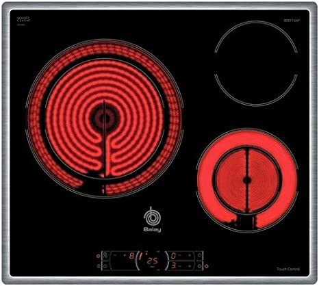 Balay 3EB715XP Integrado Cerámico Negro hobs - Placa ...