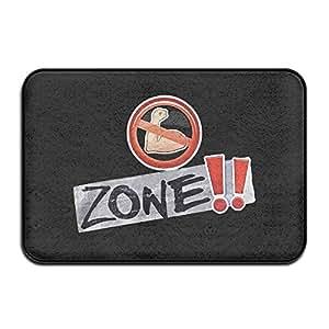 Rae sremmurd no Flex Zone Felpudo al aire libre Fashion puerta alfombrillas área al aire libre alfombra antideslizante Felpudo Dog Felpudo Alfombrilla Felpudo alfombra para el hogar–-Coral y de terciopelo de espuma con efecto memoria