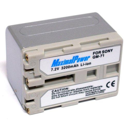 Qm91 Equivalent Camcorder Battery - 4