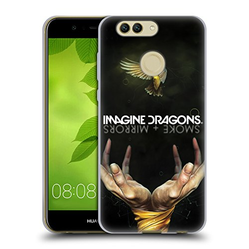 Official Imagine Dragons Smoke And Mirrors Key Art Soft Gel Case for Huawei Nova 2 (Mirror Nova Art)