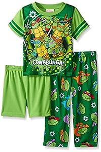 Teenage Mutant Ninja Turtles Boys Cowabunga! Dudes 3-Piece Pajama Set