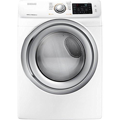 Samsung 7.5 cu. ft. Gas Dryer with Steam in White