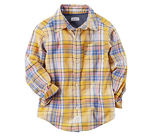 Plaid Button Front Shirt - 4