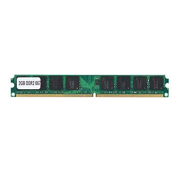 Tonysa Tarjeta de Módulo de RAM / 2GB DDR2 667MHz / PC2-5300 PC 240Pin para Intel/AMD/Tipo de Memoria: DDR2/ Capacidad: 2GB/ Frecuencia de Memoria: ...