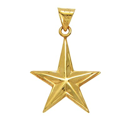 Buy lecalla 22k 916 yellow gold star pendant online at low prices lecalla 22k 916 yellow gold star pendant mozeypictures Gallery