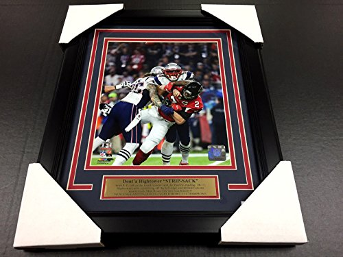 Donta Hightower Strip Sack Super Bowl Li New England Patriots 8X10 Photo Framed