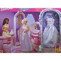 Barbie Bridal Boutique Playset con bata y velo incluidos (1998 Arcotoys, Mattel)