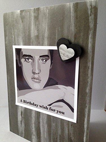 Amazon Elvis Presley Greetings Birthday Card American Singer