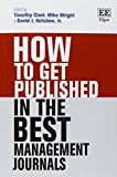 img - for How to Get Published in the Best Management Journals book / textbook / text book