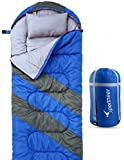 sleeping bag - Sleeping Bag For 4 Season, Sportneer Portable Waterproof Lightweight Sleeping Bag with Compression Sack For Camping, Hiking, Travelling