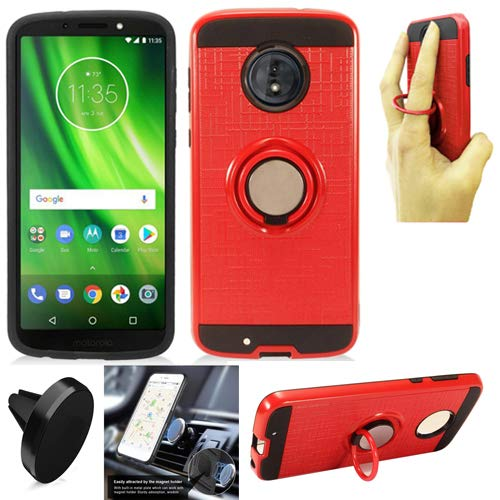official photos a215b bd957 Amazon.com: Phone Case for Straight Talk Motorola g6 Prepaid ...