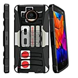 MINITURTLE Case Compatible w/Motorola Moto Z Force Droid (2016) Case with Kickstand + Belt Clip Combo [Slim Heavy Duty Protection][Air Cushion Technology] – Game Controller Review