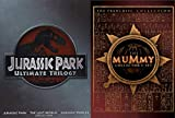 Adventures Before Our Time - The Mummy Collector's Set 3-Movie Set (The Mummy/Mummy Returns/The Scorpion King) & Jurassic Park Trilogy (Jurassic Park/The Lost World/JurassicPark III) 6-DVD Bundle
