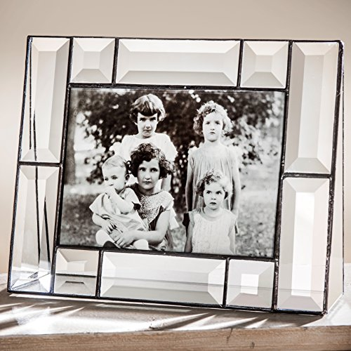J Devlin Pic 112 Series Glass Picture Frames Beveled Assorted Sizes (5x7 Horizontal)