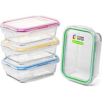 Amazon Com Pyrex 3 Cup Rectangle Glass Food Storage