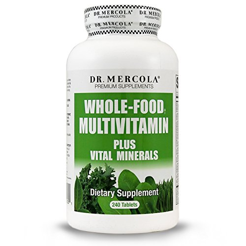 Dr Mercola Whole Multivitamin Minerals product image